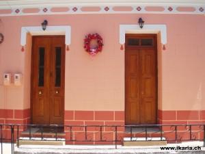 Geschmückte Türen in Christos RachesERA
