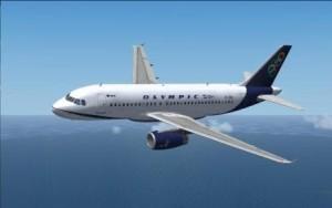 Olympic Airways Flugzeug