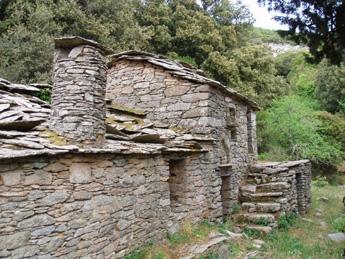 Steinhaus in Langada