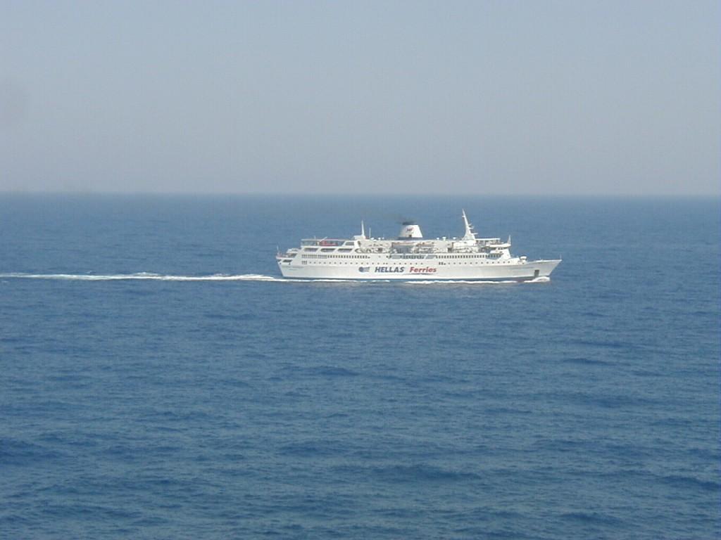 Nach Ikaria mit dem Fährschiff