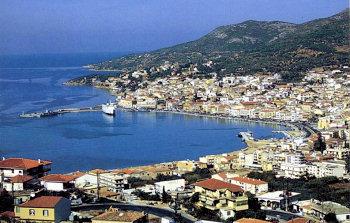 Hafen von Vathi Samos
