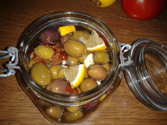 Meine Olivenvariante