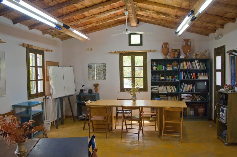 Klassenzimmer im Sprach Zentrum