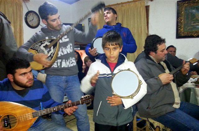 Kalanda Musiker