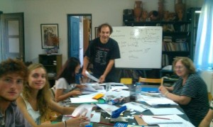 Bild 3 im Klassenraum