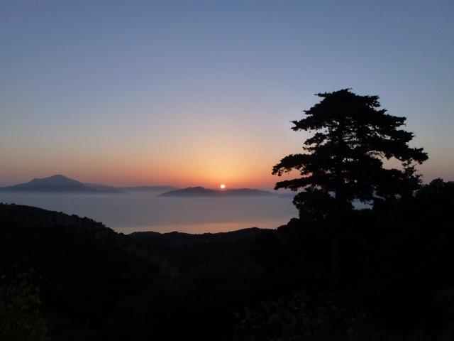 Sonnenuntergang in Katafigi