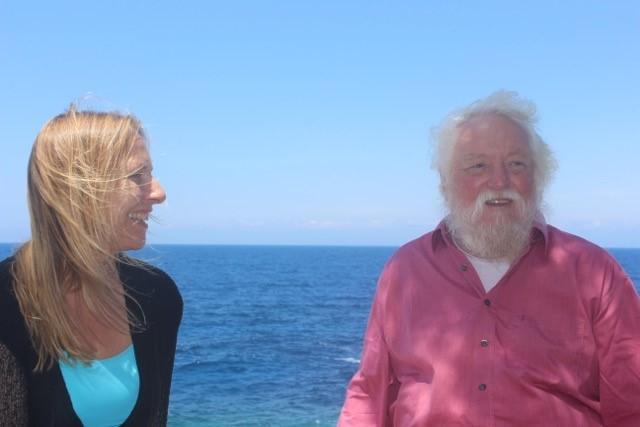 Peter Hess und Ursula Kastanias