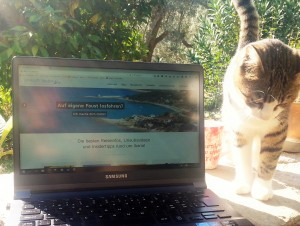 Aias und mein Laptop