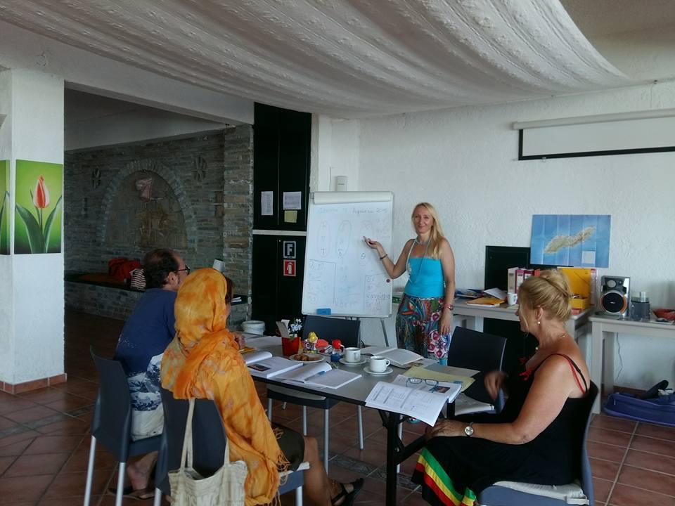 Unterricht mit Effie Stergiou