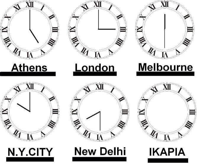 Blue Zones Die Uhren in Ikaria stehen still