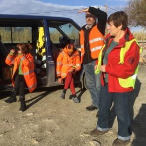 Lesbos Edith und ihr Freiwilligen-Team